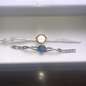 Two Barely Worn Watches